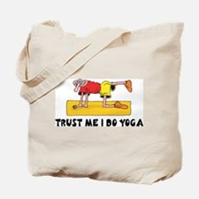 Trust Me I Do Yoga Tote Bag
