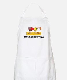 Trust Me I Do Yoga BBQ Apron