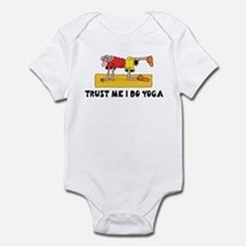 Trust Me I Do Yoga Infant Bodysuit