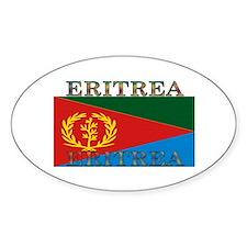 Eritrea Oval Decal