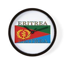 Eritrea Wall Clock