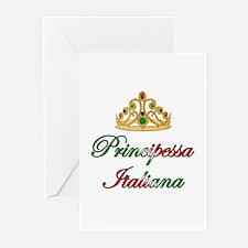 Principessa Italiana (Italian Princess) Greeting C