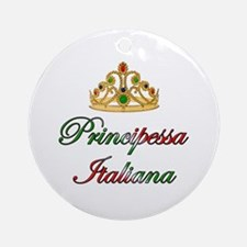 Principessa Italiana (Italian Princess) Ornament (