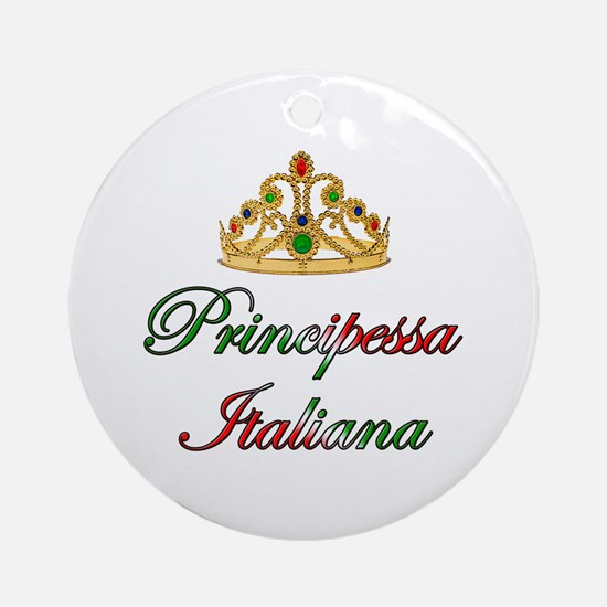 Principessa Italiana (Italian Princess) Ornament (