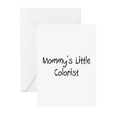 Mommy's Little Colorist Greeting Cards (Pk of 10)