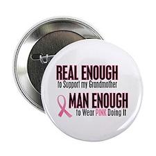 """Real Enough Man Enough 1 (Grandmother) 2.25"""" Butto"""
