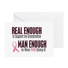 Real Enough Man Enough 1 (Grandmother) Greeting Ca