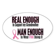 Real Enough Man Enough 1 (Grandmother) Decal