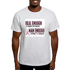 Real Enough Man Enough 1 (Fiancée) T-Shirt