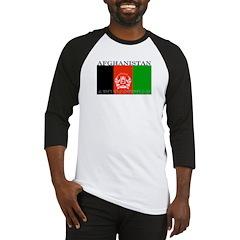 Afghanistan Afghan Flag Baseball Jersey