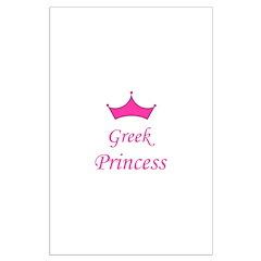Greek Princess with Crown Posters