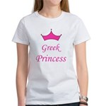 Greek Princess with Crown Women's T-Shirt