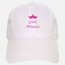 Greek Princess with Crown Baseball Baseball Cap