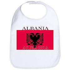 Albania Albanian Flag Bib