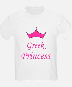 Greek Princess with Crown T-Shirt
