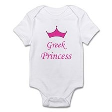 Greek Princess with Crown Infant Bodysuit
