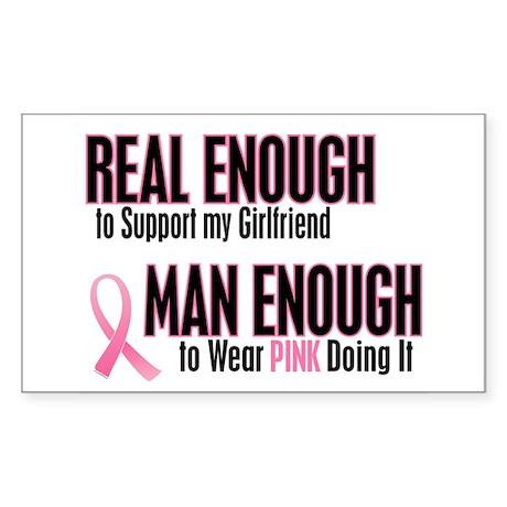 Real Enough Man Enough 1 (Girlfriend) Sticker (Rec