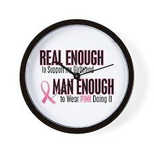 Real Enough Man Enough 1 (Girlfriend) Wall Clock