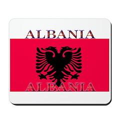 Albania Albanian Flag Mousepad