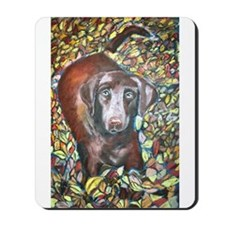 """Emmit"" a Labrador Retriever Mousepad"