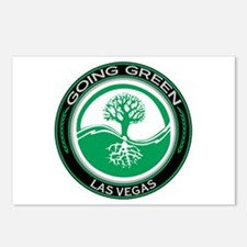 Going Green Las Vegas Tree Postcards (Package of 8