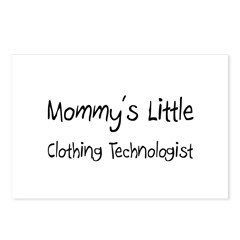 Mommy's Little Clothing Technologist Postcards (Pa