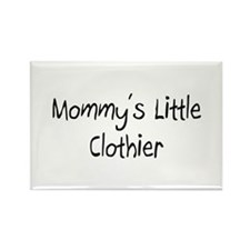 Mommy's Little Clothier Rectangle Magnet