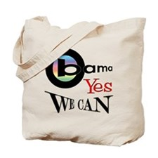 Obama-Yes We Can Tote Bag