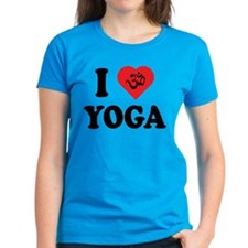 I Love Yoga Tee