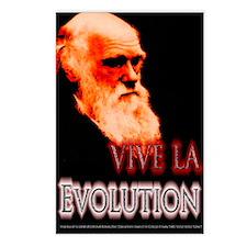 Vive La Evolution Postcards (Package of 8)
