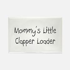 Mommy's Little Clapper Loader Rectangle Magnet