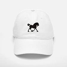 Friesian Black Horse Baseball Baseball Cap