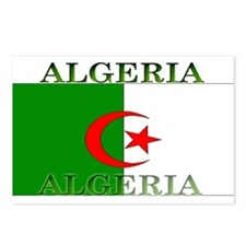 Algeria Algerian Flag Postcards (Package of 8)