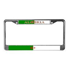 Algeria Algerian Flag License Plate Frame