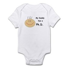 My Daddy has a PhD Infant Bodysuit