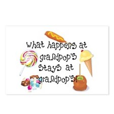 What Happens at Grandpop's... Postcards (Package o