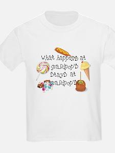 What Happens at Grandpop's... T-Shirt