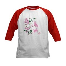Cherry Blossoms with Pink But Tee