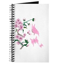 Cherry Blossoms with Pink But Journal