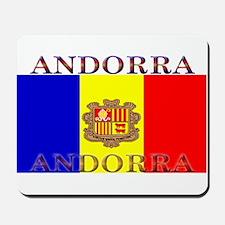 Andorra Andorran Flag Mousepad