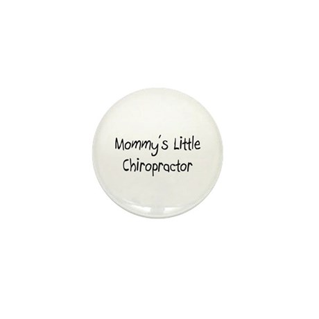 Mommy's Little Chiropractor Mini Button