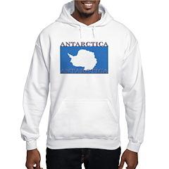 Antarctica Flag Hoodie