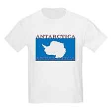Antarctica Flag Kids T-Shirt