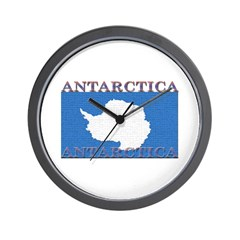 Antarctica Flag Wall Clock