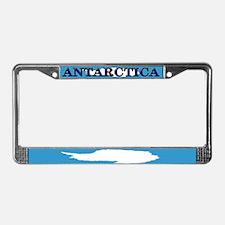 Antarctica Flag License Plate Frame