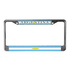 Argentina Argentine Flag License Plate Frame