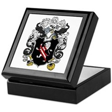 Holmes Family Crest Keepsake Box