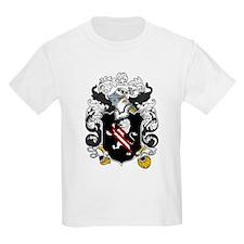 Holmes Family Crest Kids T-Shirt