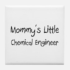 Mommy's Little Chemical Engineer Tile Coaster
