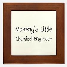 Mommy's Little Chemical Engineer Framed Tile